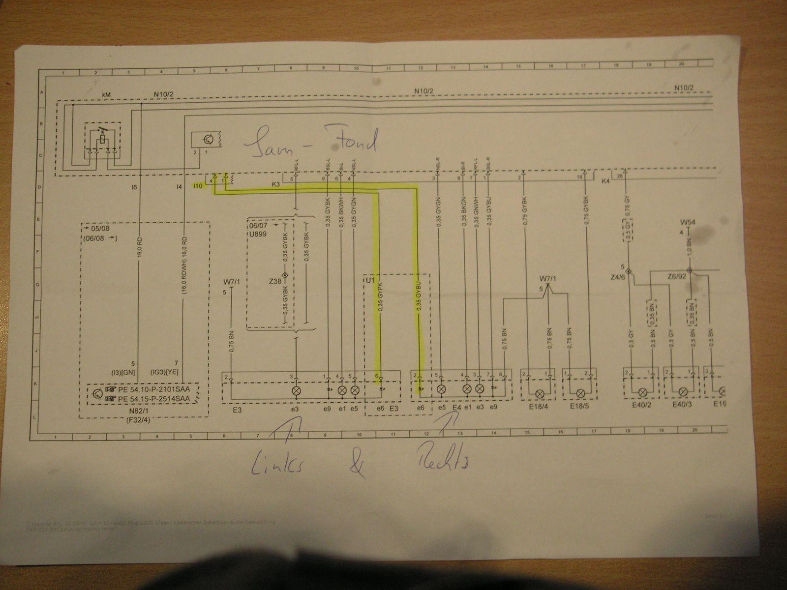 Ungewöhnlich Led Rücklicht Schaltplan Galerie - Schaltplan Serie ...